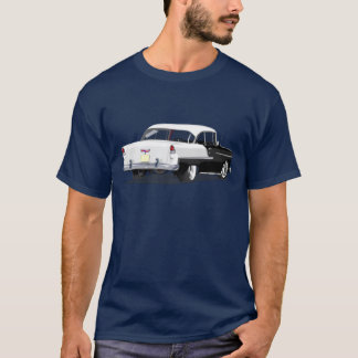 1955 Shoebox Shirt in Black and White