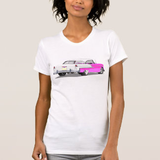 1955 Shoebox Shirt in Pink and White