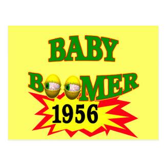1956 Baby Boomer Postcard