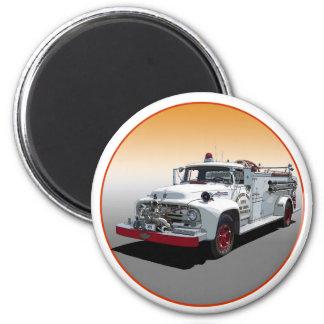 1956 Big Job Firetruck Fridge Magnets