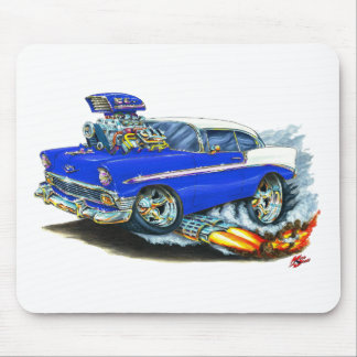 1956 Chevy 150-210 Blue Car Mouse Pad