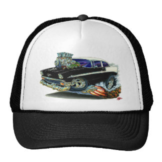 1956 Chevy Belair Black Car Cap