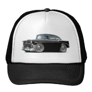 1956 Chevy Belair Black Car Mesh Hat