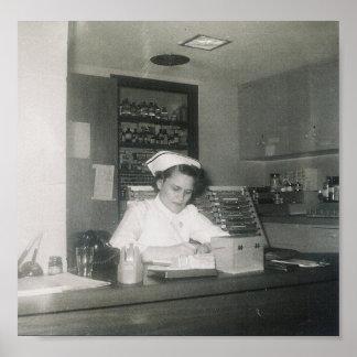 1956 NURSE #11 POSTER