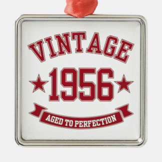 1956 Vintage Aged to Perfection Christmas Ornament
