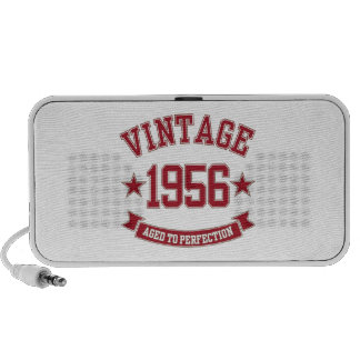 1956 Vintage Aged to Perfection Travel Speaker