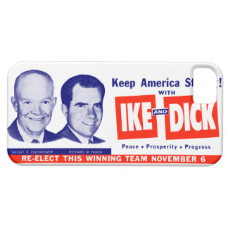 1956 Vote Ike and Dick Barely There iPhone 5 Case