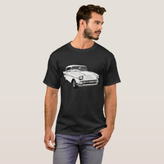 1957 Bel Air in White T-Shirt