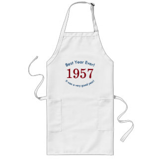 1957 ♥ Best Year Ever! 60th Birthday Gift Apron