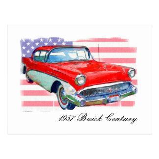 1957 Buick Century Postcard