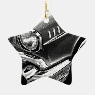 1957 Chevrolet Bel Air Black & White Ceramic Ornament