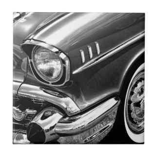 1957 Chevrolet Bel Air Black & White Tile