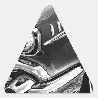 1957 Chevrolet Bel Air Black & White Triangle Sticker