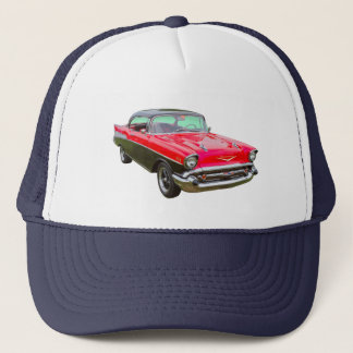 1957 Chevrolet Bel Air Classic Car Trucker Hat
