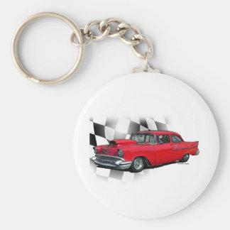 1957 Chevrolet Dragster Key Ring