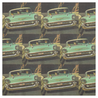 1957 Chevy Bel Air print Fabric