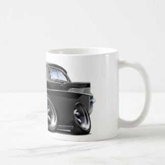 1957 Chevy Belair Black Hot Rod Coffee Mug