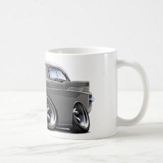 1957 Chevy Belair Grey-White Hot Rod Coffee Mug