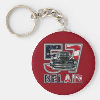 1957 Chevy Belair Key Chain. Key Ring