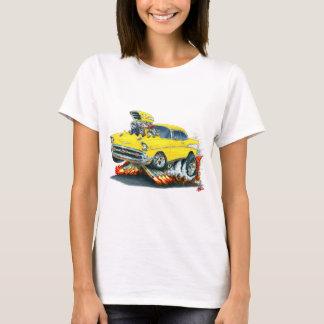 1957 Chevy Belair Yellow Car T-Shirt