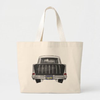 1957 Chevy Nomad Large Tote Bag