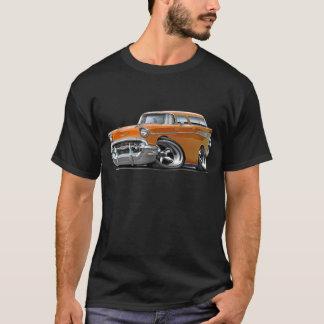 1957 Chevy Nomad Orange Hot Rod T-Shirt