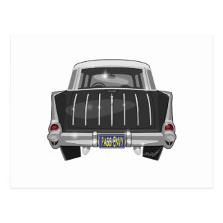 1957 Chevy Nomad Postcard