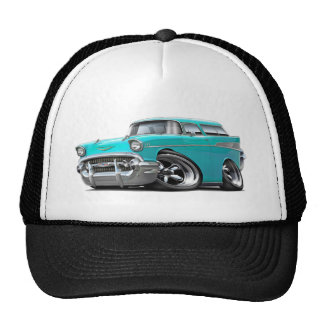 1957 Chevy Nomad Turquoise Hot Rod Cap