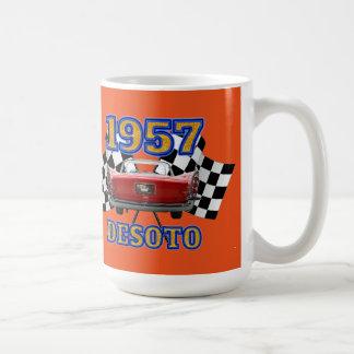 1957 Desoto Firelite Orange Mug. Coffee Mug