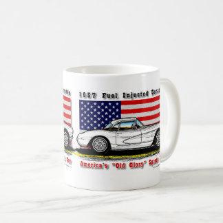 1957 Fuel Injected Corvette Coffee Mug