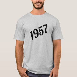 1957 Happy 60th Birthday T-Shirt