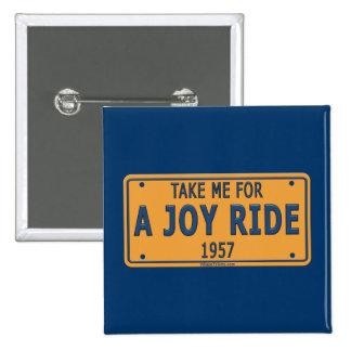 1957 Joy Ride Car Pin