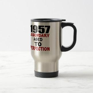 1957 LEGENDARY AGED TO PERFECTION TRAVEL MUG
