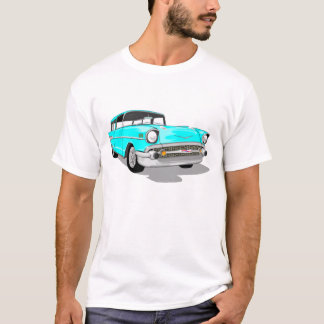 1957 Nomad in Light Blue T-Shirt