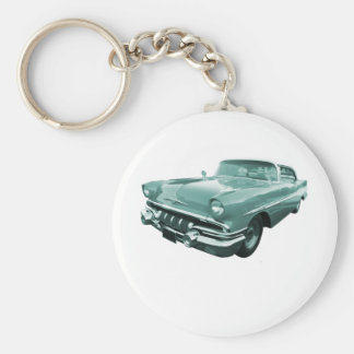 1957 Pontiac Star Chief Basic Round Button Key Ring