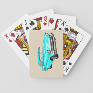 1957 Shoebox Playing Cards in Aqua Blue