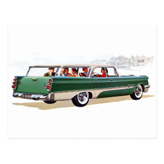 1957 Stationwagon Post Cards