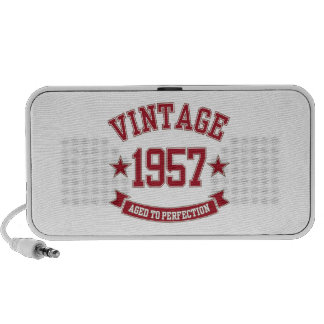 1957 Vintage Aged to Perfection iPhone Speakers