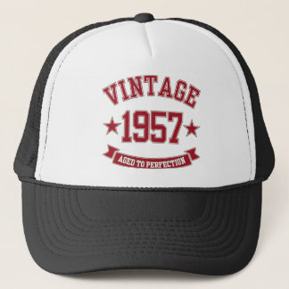 1957 Vintage Aged to Perfection Trucker Hat