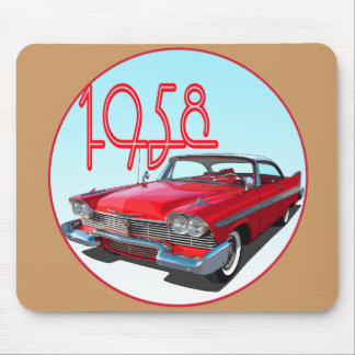 1958 Belvedere Sport Coupe Mouse Pad