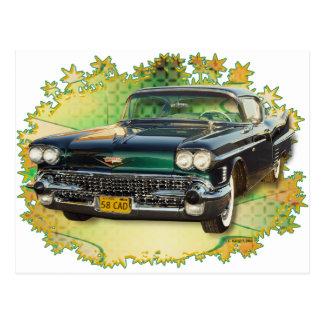 1958 CADILLAC #2 POSTCARD