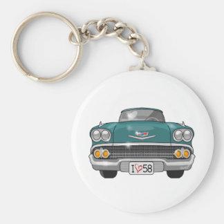 1958 Chevrolet Impala Key Ring