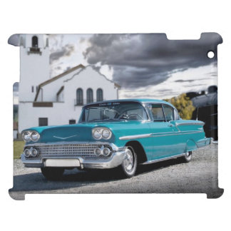 1958 Chevy Bel Air Belair Chevrolet Classic Car Cover For The iPad