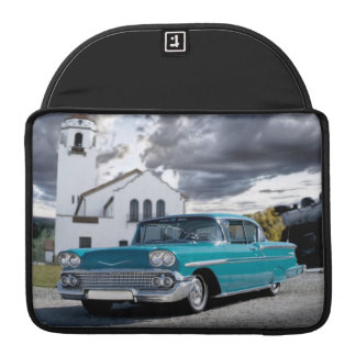 1958 Chevy Bel Air Classic Car Train Depot Sleeve For MacBook Pro