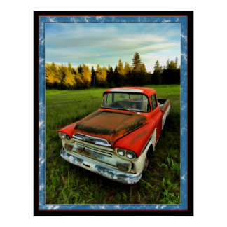 1958 Chevy Truck Poster
