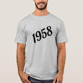 1958 Happy 60th Birthday T-Shirt