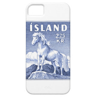 1958 Icelandic Horse Postage Stamp Barely There iPhone 5 Case