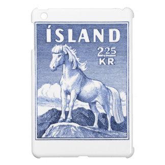 1958 Icelandic Horse Postage Stamp iPad Mini Cover