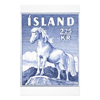 1958 Icelandic Horse Postage Stamp Stationery