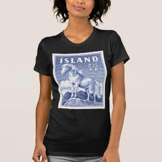 1958 Icelandic Horse Postage Stamp T-Shirt